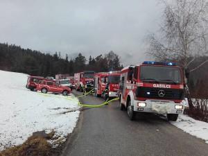Intervencija - Požar hleva Krajno Brdo
