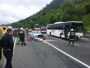 Intervencija - Prometna nesreča 12.5.2016
