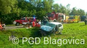 Intervencija - Prometna nesreča ZG loke