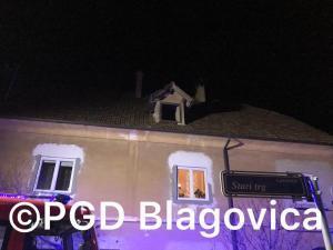 Intervencija - Požar v stanovanjskih objektih Lukovica