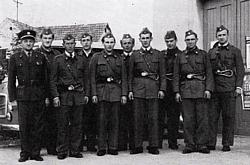 Gasilska desetina v letu 1968.