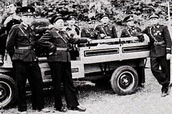 Gasilski voz iz leta 1958.