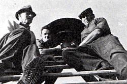 Namestitev električne sirene leta 1968.